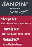 SANDINI Schlaf- und Reisekissen