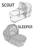 Ersatzteile Sleeper und Scout