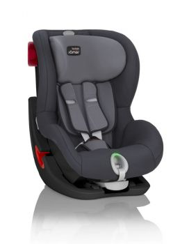 Britax Römer KING II LS Black Series Storm Grey