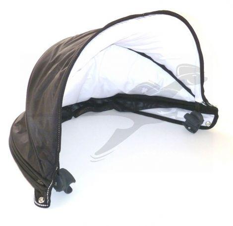 Verdeck in schwarz für TFK dot-Wanne bis 2016