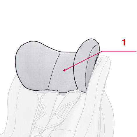 Styropor für Kopfstütze Concord Ultimax Isofix