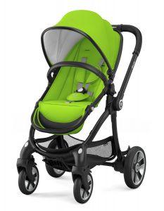 Kiddy Evostar 1 mit Babywanne - Spring Green