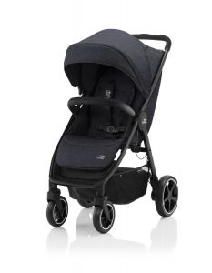 Britax Römer B-AGILE R  Black Shadow / Black