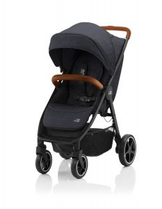 Britax Römer B-AGILE R  Black Shadow / Brown