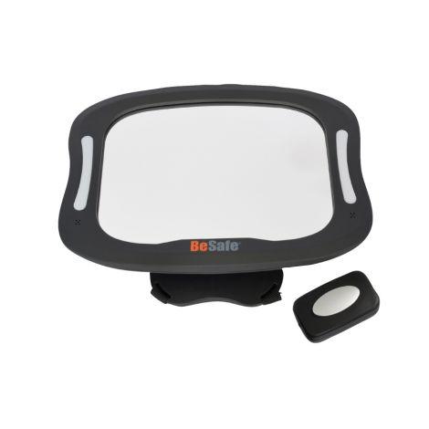 BeSafe XL Babyspiegel mit Licht