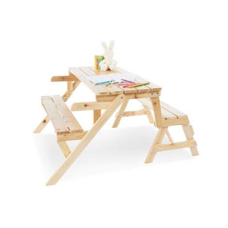 Pinolino 2in1 Kindersitzgarnitur und Gartenbank 'Elli'