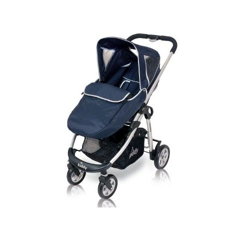 Fußsack für Kiddy click'n move E33 navy