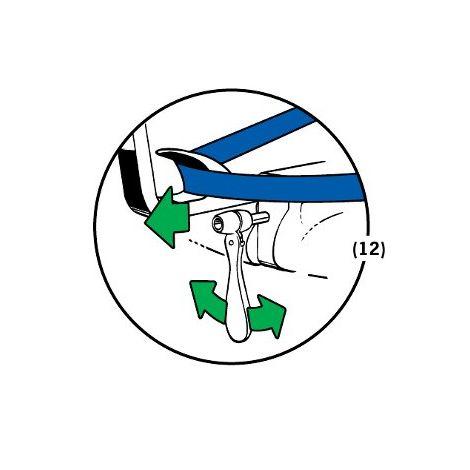 Gurtstraffer/Ratsche für BeSafe iZi Combi / iZi Kid / iZi Plus