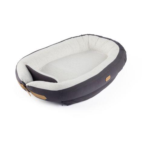Voksi Baby Nest in Dark grey