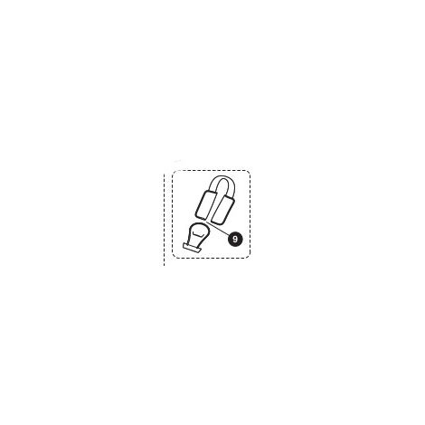 Priori SPS / SPS+ Gurtpolster schwarz