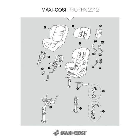 Kostenvoranschlag für Reparatur Maxi-Cosi PrioriFix