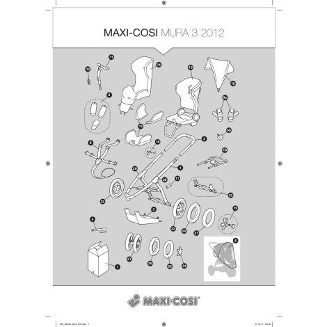 Kostenvoranschlag für Reparatur Maxi Cosi Mura3