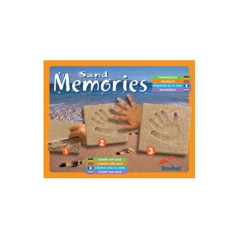 Licofun Sand Memories Fußabdruck ohne Holzrahmen