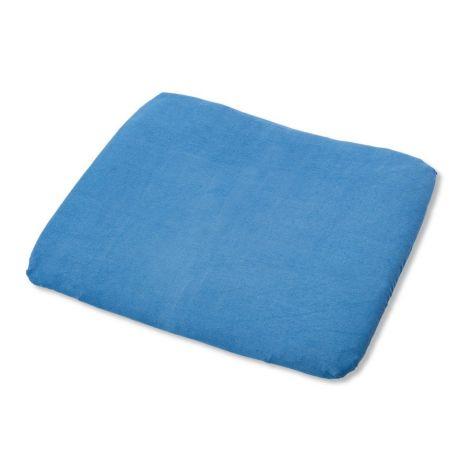 Pinolino Bezug für Wickelauflagen, Frottee, blau