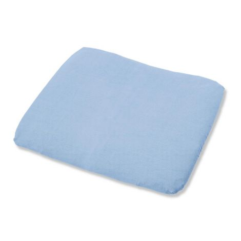 Pinolino Bezug für Wickelauflagen, Frottee, hellblau
