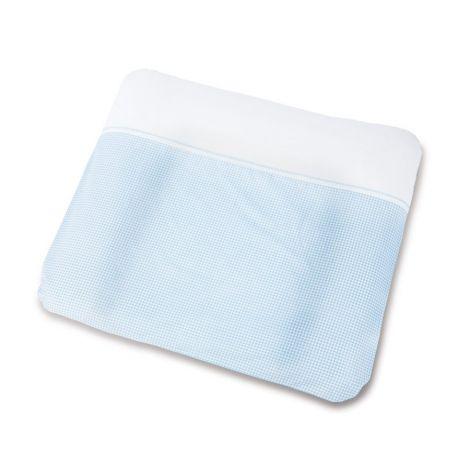 Pinolino Bezug für Wickelauflagen, 'Vichy-Karo', blau