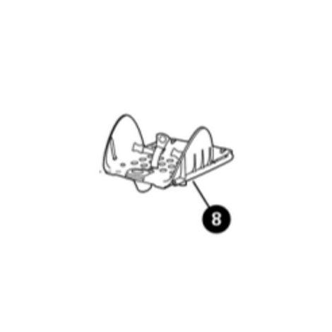 Sitzplatte mit Gurtschloss für Maxi Cosi Stella