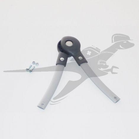 Sicherheitsbügel mit Schrauben in silber für TFK dot