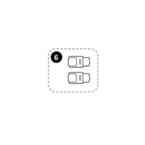 Reparatur: ISOFIX Druckknopf rechts/links Maxi-Cosi AxissFix oder AxissFix Plus