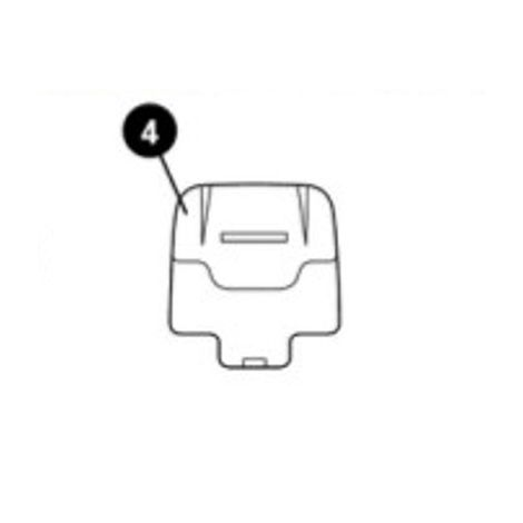 Styroporteil Kopfstütze unten für AxissFix / AxissFix Plus