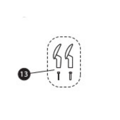 Gurthaken und Schrauben für Milofix