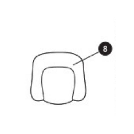 Sitzverkleinerer (schwarz) für Milofix