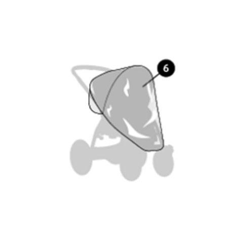 Regenverdeck für Maxi Cosi Mura Plus 4 und Mura Plus 3