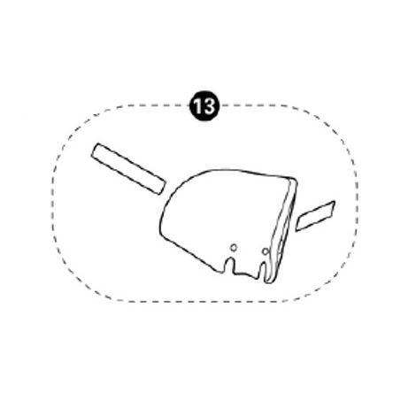 Styroporteil Kopfstütze für Tobi