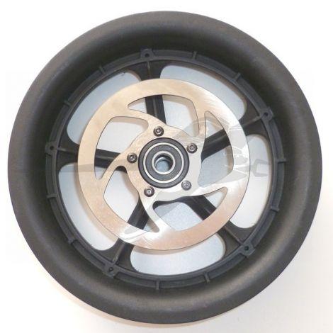 12 Zoll Hinterradfelge Kunststoff mit Bremsscheibe für TFK Joggster III / Twist /Adventure
