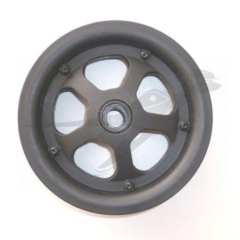 TFK - 10 Zoll Vorderradfelge - Kunststoff in schwarz für Joggster Twist