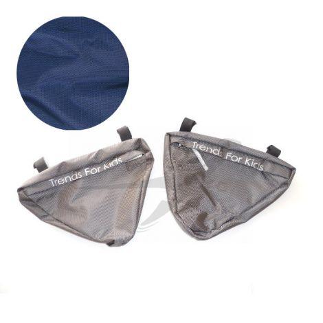 TFK Joggster/Twinner - Seitentaschen in classic blue