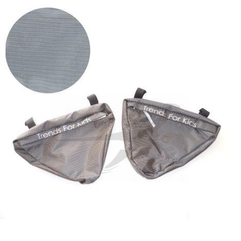 TFK Joggster/Twinner - Seitentaschen in grau