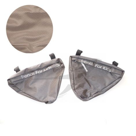 TFK Joggster/Twinner - Seitentaschen in schlamm