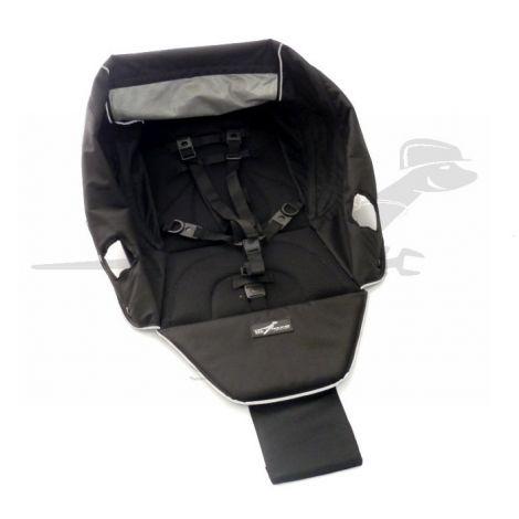 TFK Lite Mini -  Sitzbezug ohne Gurtpolster in schwarz
