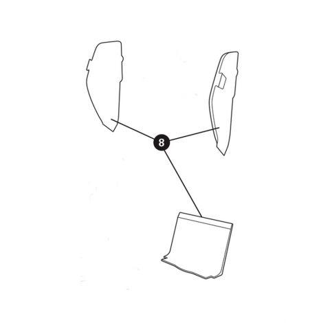 Styroporeinlage Rückenlehne unten für Maxi-Cosi Axiss