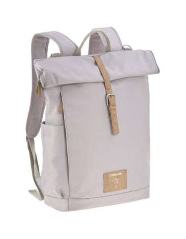 Lässig Wickelrucksack - Green Label Rolltop Backpack - Grey