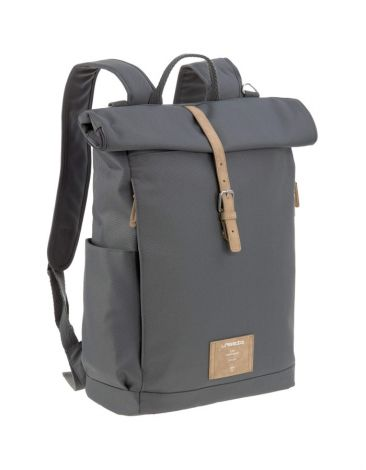 Lässig Wickelrucksack - Green Label Rolltop Backpack - Anthracite