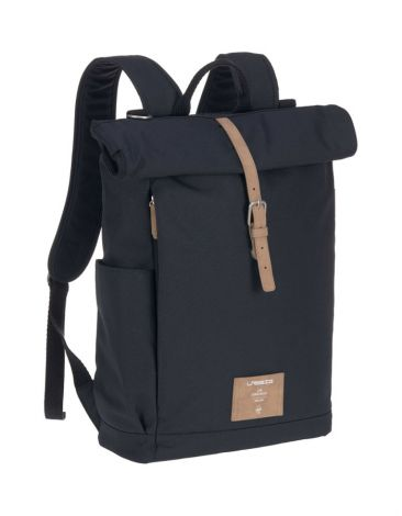 Lässig Wickelrucksack - Green Label Rolltop Backpack - night blue