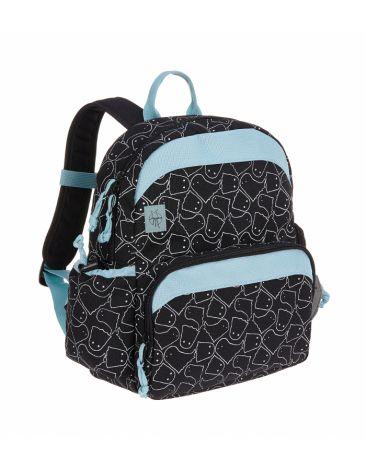 Lässig Kindergartenrucksack - Medium Backpack, Spooky Black