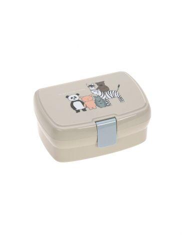 Lässig Brotdose Lunchbox About Friends - Beige