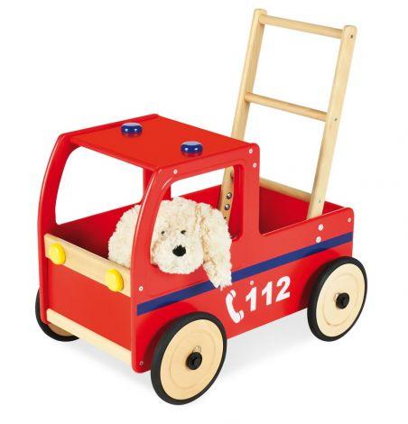 Pinolino Lauflernwagen 'Feuerwehrauto Klaus'