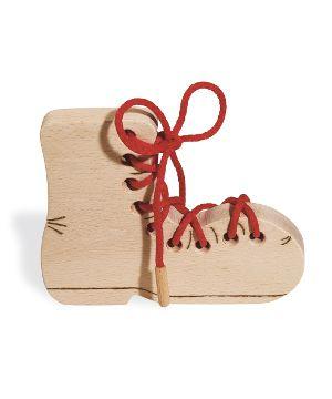Pinolino Fädelspiel 'Schuh'