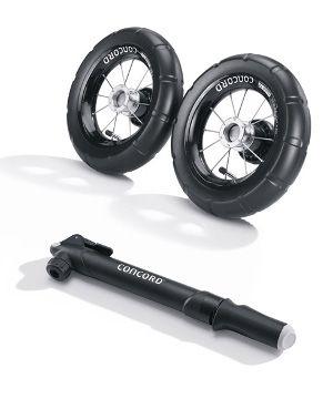 Pneumatikset / Luftrad-Set für Concord Neo