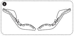 Reparatur: Styroporseitenteile für Milofix