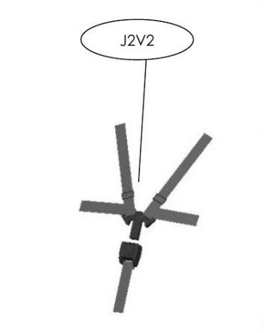 5-Punkt-Gurt ohne Gurtpolster für TFK Modelle