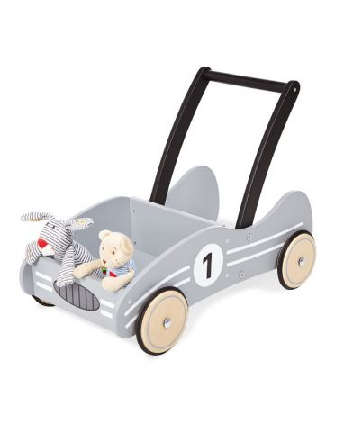 Pinolino Lauflernwagen 'Kimi' silbergrau