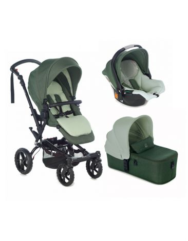 Jane Set-  Crosswalk R, Micro und Koos iSize R1 in Forest Green