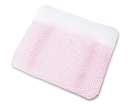 Pinolino Bezug für Wickelauflagen, 'Vichy-Karo', rosa