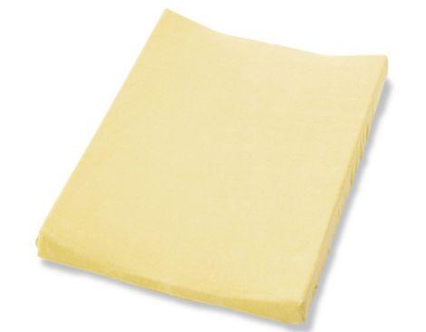 Pinolino Bezug für Wickelmulde, Frottee gelb