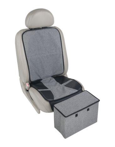Altabebe Autositzauflage mit Fußstütze